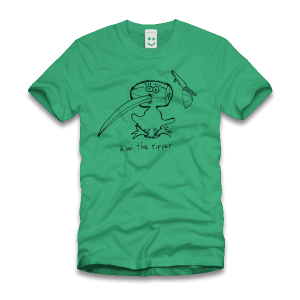 Kiwi The Ripper – T-Shirt