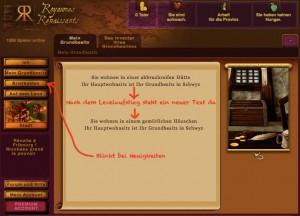 Ein Screenshot aus RK