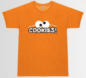 """Cookies!""-Shirt"