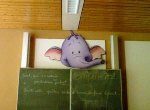 Heute im Klassenzimmer…