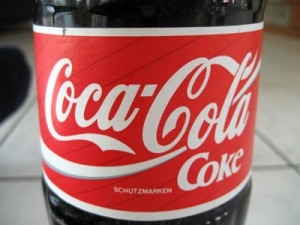 Cola-Etikett