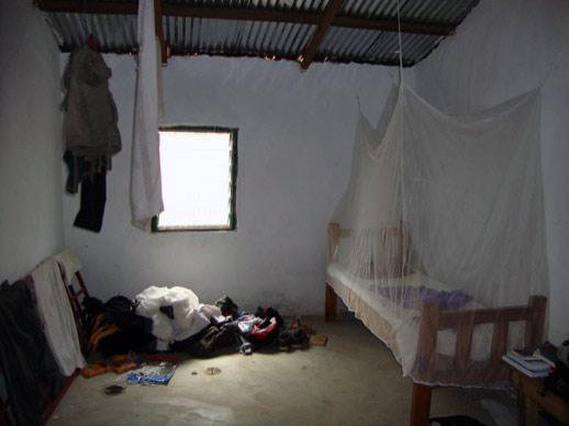 Mein Zimmer in Gbeogo