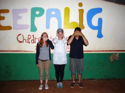 Isabell, Daniela und ich :)