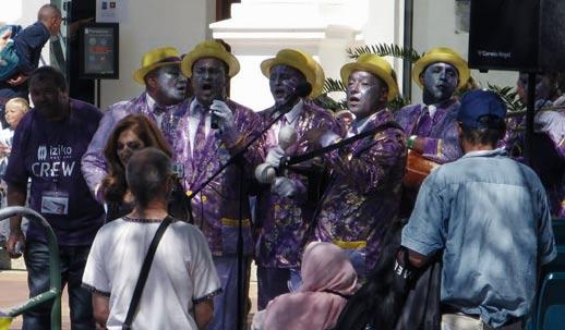 Band in Afrika