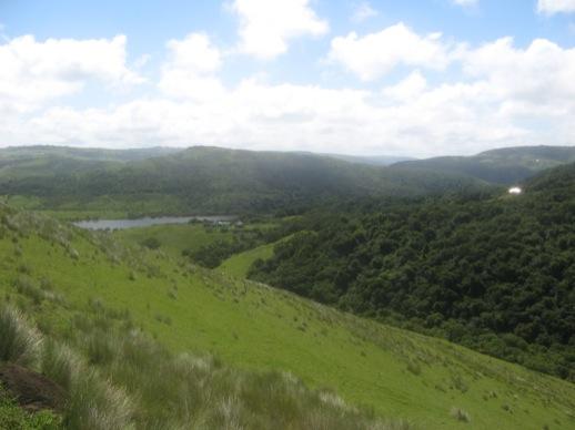 Das Tal des Xhora-Flusses