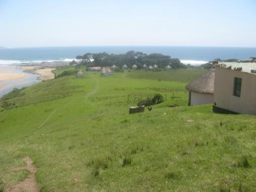 Die Lodge: Ansammlung von Hütten