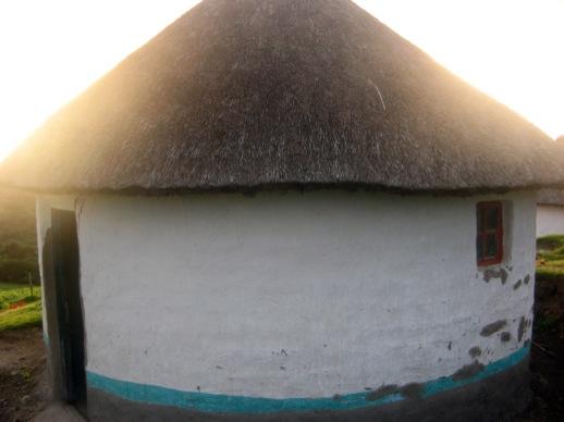Meine Hütte von außen