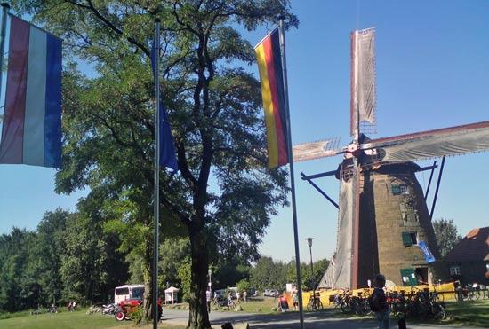 Katrin in Bad Bentheim an der deutsch-niederländischen Grenze