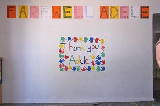 Farewell Adele