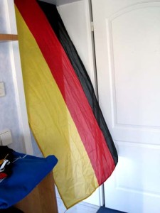 Die Flagge hebt ab!