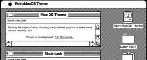 Retro MacOS Theme