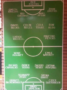 Wine Rooney, David Becks & Co.