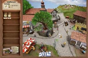 Dorf für Quests, Handel und Shopping
