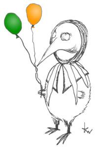 Karneval-Kiwi
