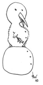 Kiwi The Snowman