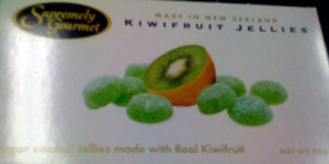 Kiwi-Gummibärchen