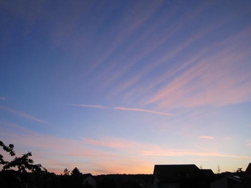 Traumhaft schöner Sonnenaufgang