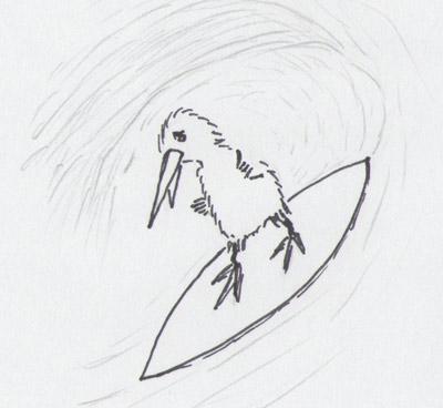 Surfer-Kiwi