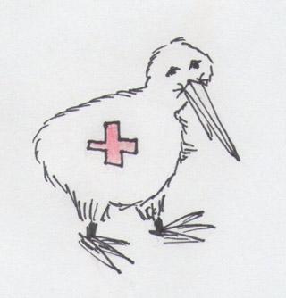 Sanitäts-Kiwi oder Kiwi+