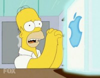 Homer Simpson & Apple