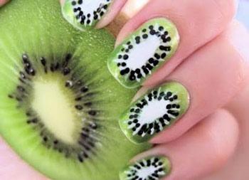 Kiwi-Fingernägel