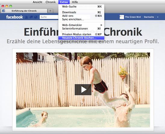 Einführung der Chronik / thegreenbird.de