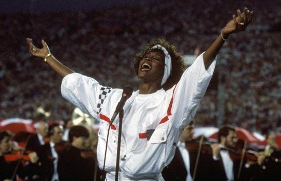 Whitney Houston, Super Bowl XXV by Beacon Radio