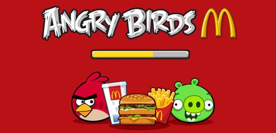 Angry Birds: McDonald's-Spezial