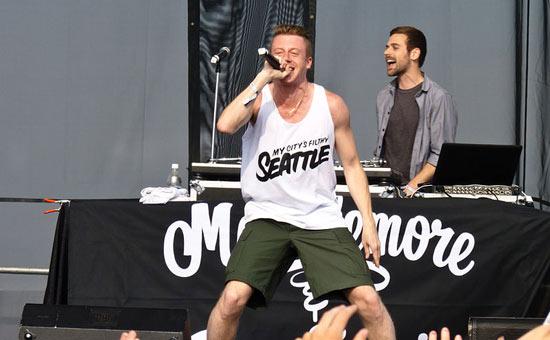 Macklemore and Ryan Lewis in Seattle, 2011