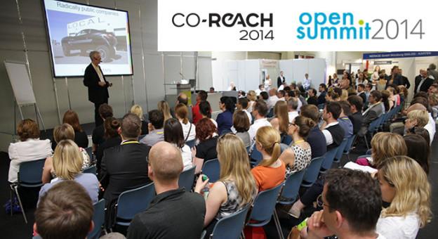 Co-Reach und Open Summit 2014
