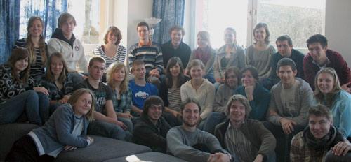 Gruppenfoto vom ersten Seminar