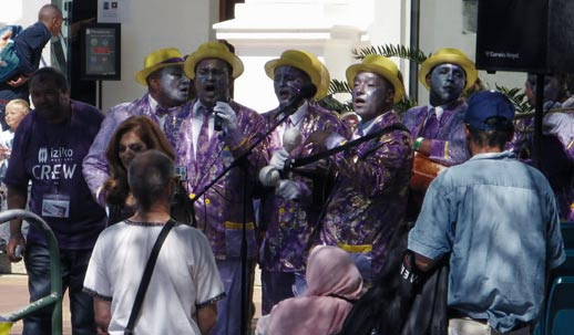 Band in Afrika