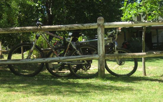Radtour durchs Jonkershoek Naturreserve nahe Stellenbosch