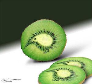 Kiwi vom Photoshop Design Wettbewerb
