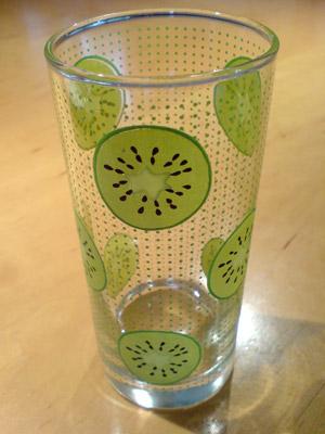 Kiwi-Glas