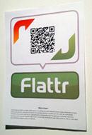 """""""Echter"""" Flattr-Button"""