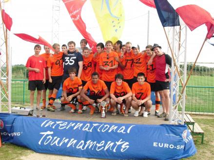 Siegerehrung der SG Dielheim A-Jugend