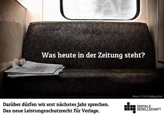 Leistungsschutzrecht für Verlage / Digitale Gesellschaft